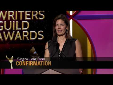 Confirmation writer Susannah Grant takes home the 2017 Writers Guild Award for Original Long Form