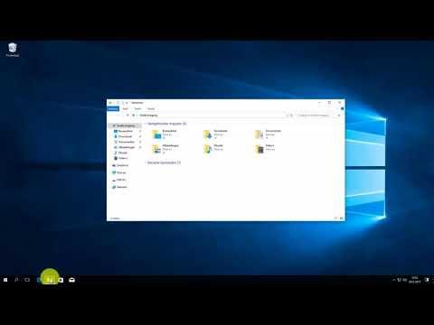 Windows 10: bestand op usb-stick openen