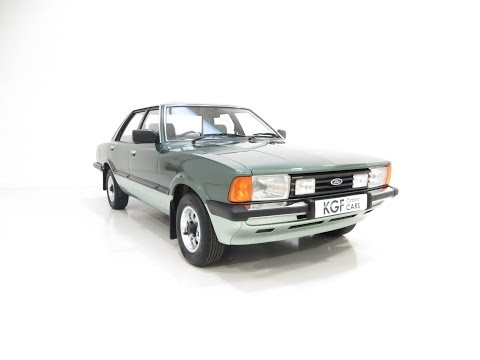 An Outstanding Original Ford Cortina Mk5 Carousel with Only 33,164 Miles from New. SOLD!