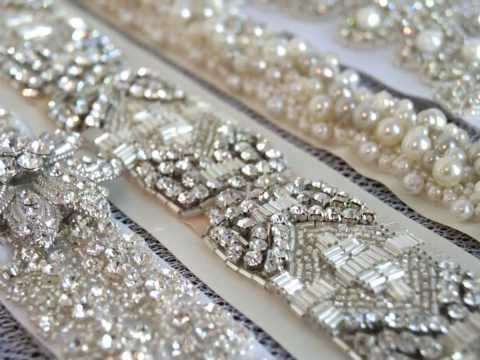 Couture Bridal Sashes