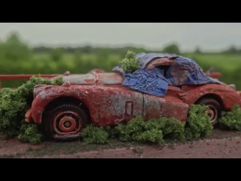 How to make a Barn Find Matchbox Car