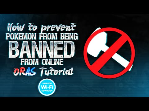 Pokemon ORAS: How to Fix Competitive Pokemon BANNED From Online (ORAS Tutorial)