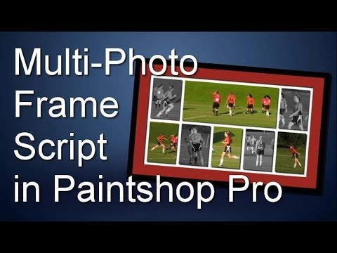 How to create a Multi-Photo Frame with Paintshop Pro