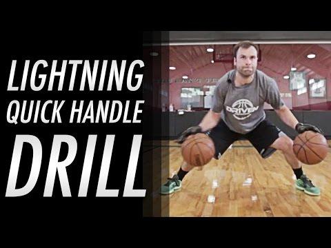 Get Lightning QUICK handles: NBA Dribbling Drill