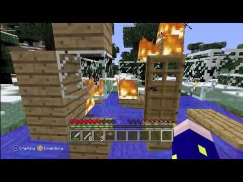 Minecraft RAGE - BURNING A KIDS HOUSE - PlayItHub Largest