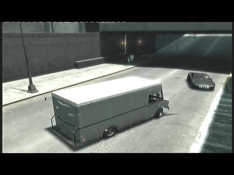 GTA 4 (IV) Secret Car Guide : The Boxville