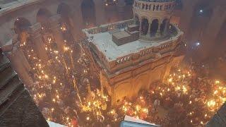 Thời sự tuần qua 28/04/2017: Hiện tượng Lửa Thánh lạ lùng tại đền thờ Thánh Mộ, Giêrusalem