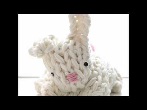 Giant Arm Knit Bunny!