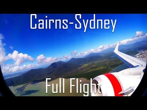 FULL FLIGHT   Cairns to Sydney   B737-800   Virgin Australia   VA1418