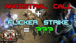 Ancestral Call Flicker Testing and Map Changes First Impressions