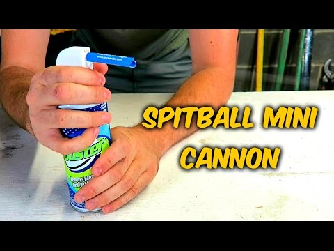 DIY Compressed Air Spitball Cannon