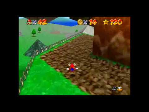 Super Mario 64 - BoB Red Coins Flying