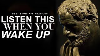 Alpha Affirmations - Stoicism [EVERYDAY]