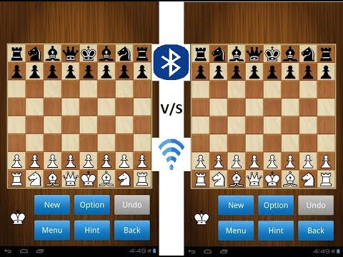 How to play multi-player chess through Bluetooth