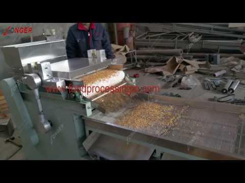 Almonds, brazil nuts, macadamias, pistachios chopping machine|cutting machine