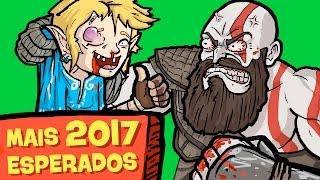 9 GAMES MAIS ESPERADOS DE 2017!