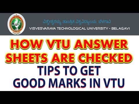 Xxx Mp4 HOW VTU Answer Sheets Are Checked Tips For Writing The Vtu Exams 3gp Sex