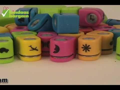 Set of 36 Kids Craft Punch