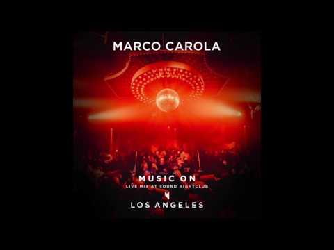 Marco Carola: live mix at Sound Nightclub - Los Angeles, February 24 2017