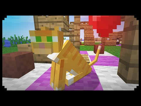 ✔ Minecraft: How to make a Cat Tower