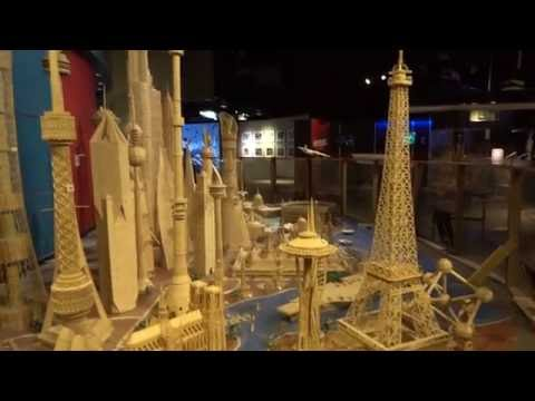 Stan Munro's Toothpick City design and 1000+ #Toothpick #ideas at MOST Syracuse, NY
