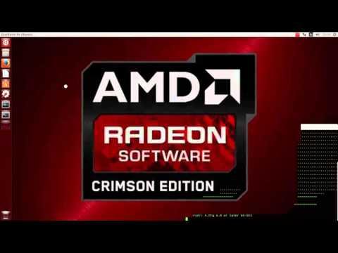 Instalación Driver AMD Radeon Crimson en Ubuntu 14.04 15.04 15.10