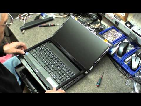 Laptop screen replacement / How to replace laptop screen on Acer Aspire 5742-6494