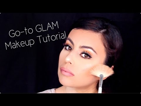 GO-TO GLAM MAKEUP TUTORIAL | Angelina