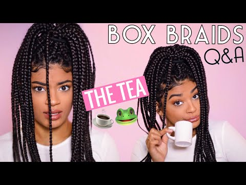 THE TEA ON BOX BRAIDS: Frequently Asked Questions | jasmeannnn