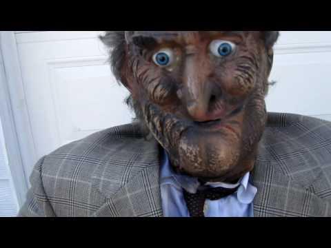 Animatronic Old Man Walker Halloween Prop For Sale on Ebay