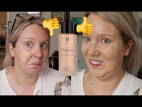 Testing out the Younique Mineral Touch Liquid Foundation! 12hr wear test | Jade Madden