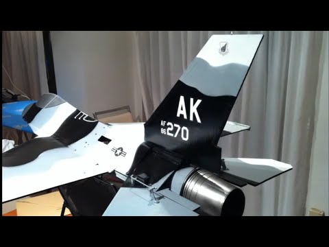 RC F-16 Arctic aggressor EDF 90mm-homebuild