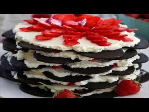 Strawberry Chocolate Tuxedo Cake