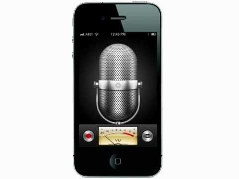 Making your own ringtones from Voice Memos