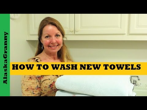 How To Wash New Towels