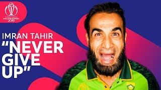 """""""Never Give Up"""" - Imran Tahir's Journey To The Top 