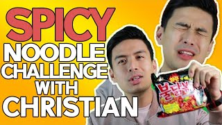 Christian Bautista - Spicy Noodle Challenge