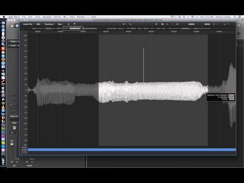 Logic Pro X - Video Tutorial 16 - Editing Audio in the File Editor (aka Sample Editor)