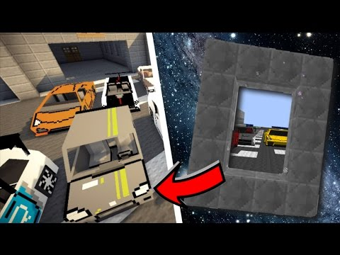 HOW TO MAKE A PORTAL TO A CAR DIMENSION!! Minecraft