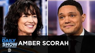 """Amber Scorah - Traveling Out of a Religion in """"Leaving the Witness""""   The Daily Show"""
