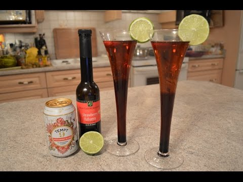How to Make Napa Valley Strawberry & Lime Balsamic Hard Cider Cocktails: WCKwK