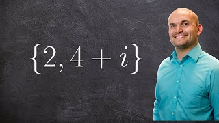 Given complex zeros find the polynomial - Online Tutor