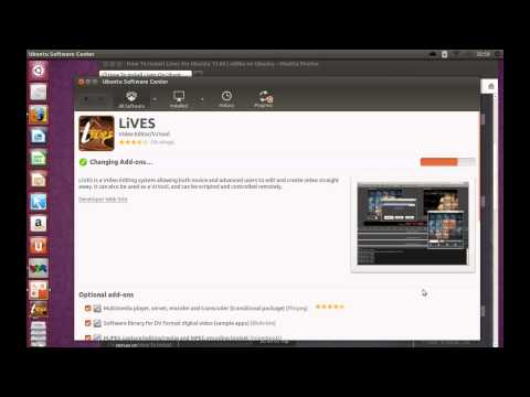 How To Install LiVES On Ubuntu 13.04