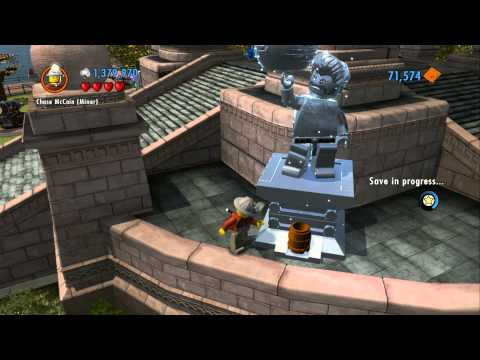 LEGO City Undercover 100% Guide - Lady Liberty Island (Overworld Area) - All Collectibles