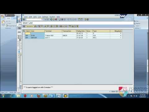 SAP Training - SAP SGEN P2