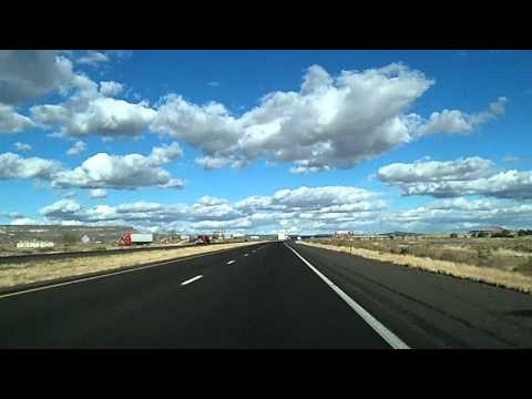 Route 66 Drive: Gallup, Grants New Mexico I-40 Dashcam
