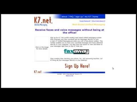 How to get a free fax number and receive faxes to your email address