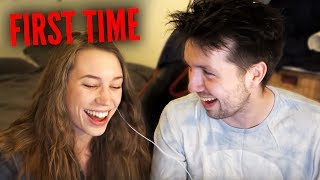REACTING TO THE FIRST TIME I MET MY GIRLFRIEND