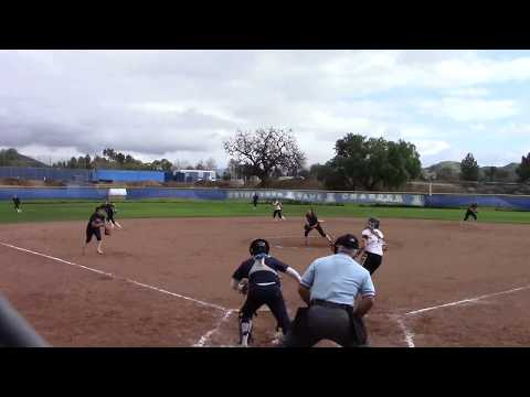 Viviana Bocanegra 2019 3rd Base Game Footage 3.3 GPA