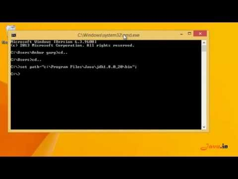 How to Set Up PATH System Variable in Java On Windows using CMD